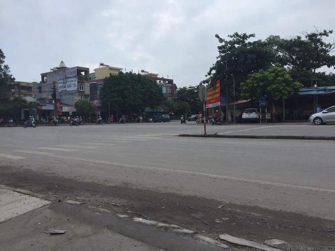Khu vực xảy ra vụ nổ súng đêm 30-8 tại Quán Toan (Hải Phòng) - Ảnh chụp sáng 31-8