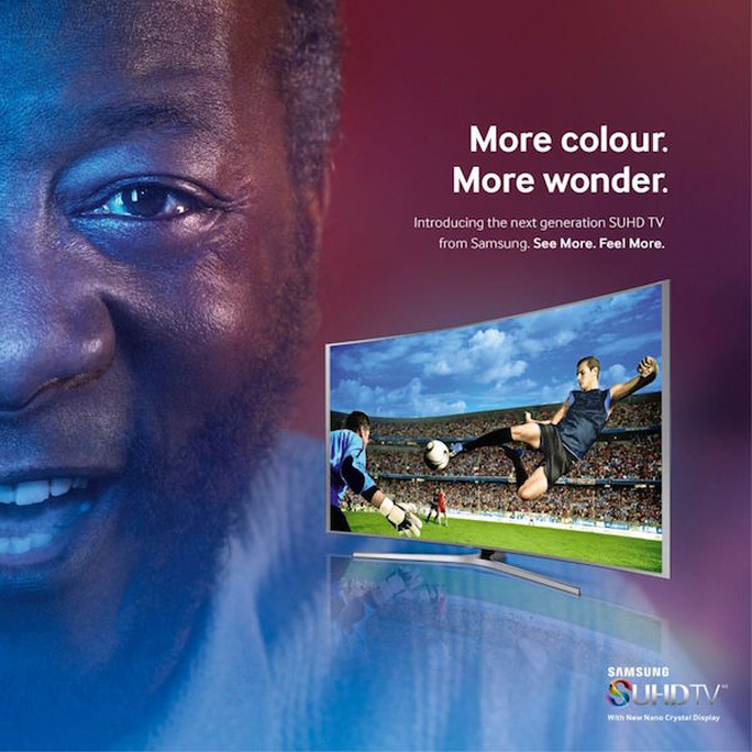 Hình ảnh quảng cáo của Samsung