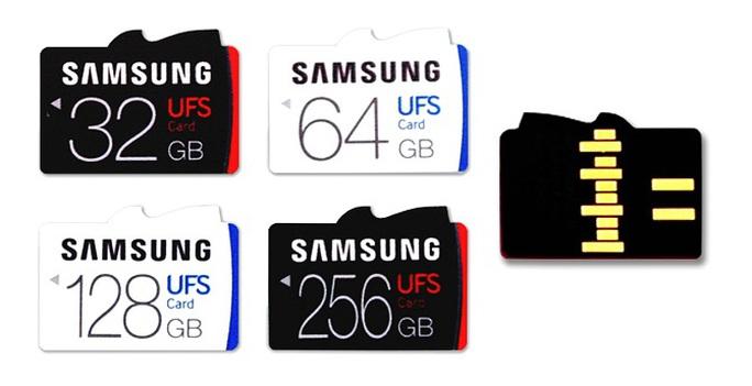 Samsung ra mắt thẻ nhớ UFS tốc độ cao