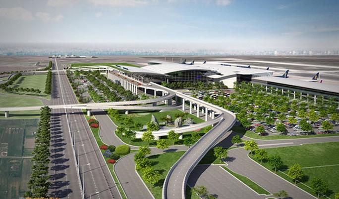 Một phối cảnh đồ án sân bay Long Thành - Ảnh minh họa