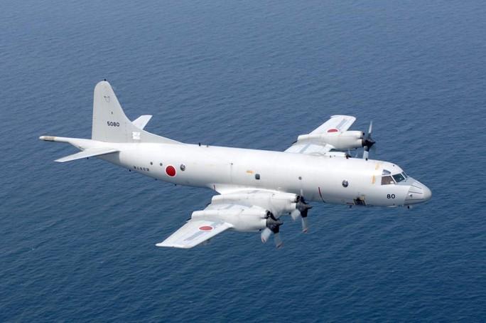 Một chiếc máy bay săn ngầm P3-C Orion phục vụ trong lực lượng quân đội Nhật Bản mua của Mỹ