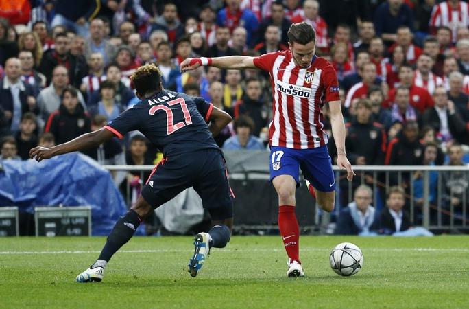 Ngược lại, chỉ cần một khoảnh khắc lóe sáng của Saul Niguez, đội chủ nhà đã có được lợi thế rất lớn trước trận bán kết lượt về ở Munich