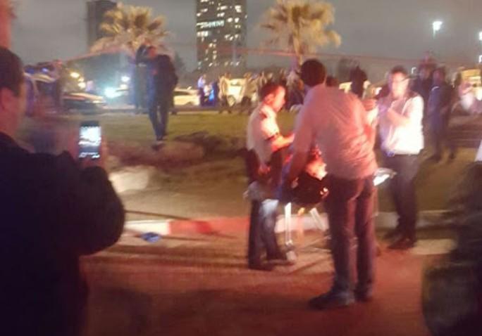 Hiện trường vụ tấn công ở Jaffa. Ảnh: JPost