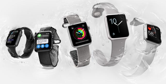 Giao diện watchOS 3.0 cung cấp nhiều mặt đồng hồ mới.