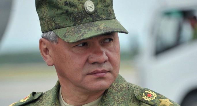 Bộ trưởng Quốc phòng Nga Sergei Shoigu. Ảnh: Sputnik