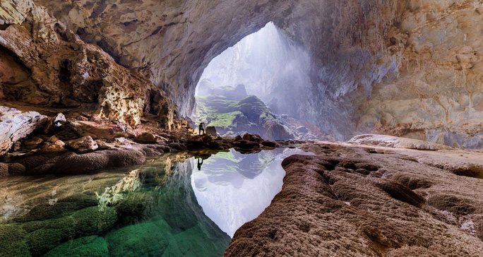 Vẻ đẹp Sơn Đoòng. Ảnh: National Geographic