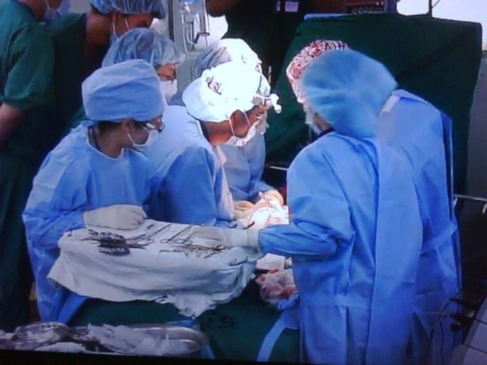 Một ca ghép gan cho bệnh nhân ung thư gan tại Bệnh viện Chợ Rẫy