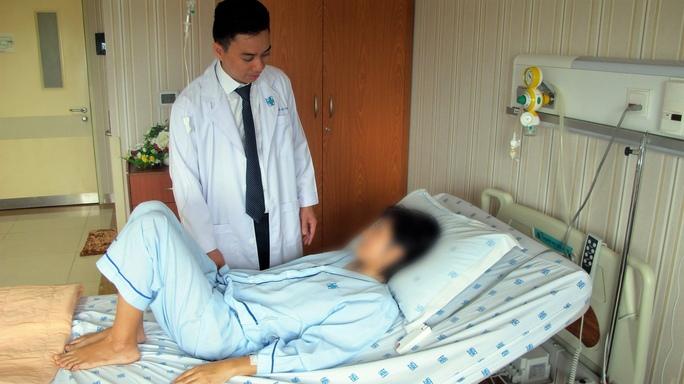 Một trong hai bệnh nhân đầu tiên được điều trị ung thư trực tràng bằng kỹ thuật mới