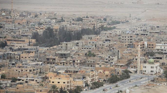 Thành phố cổ Palmyra đã về lại tay quân đội Syria. Ảnh: Sputnik