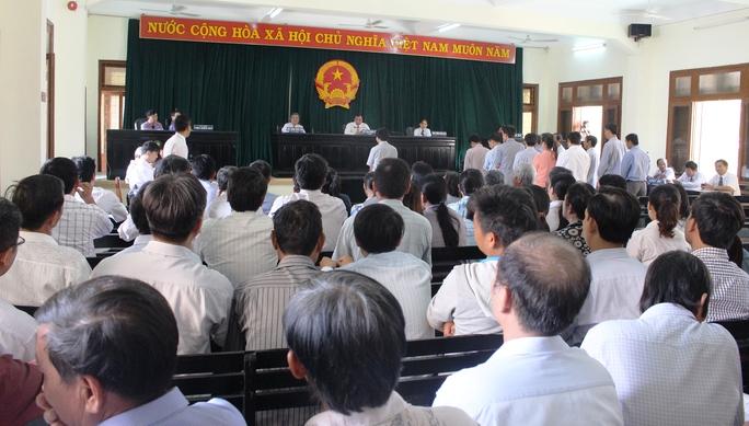 HĐXX tuyên hoãn phiên tòa vì thiếu bị cáo quan trọng