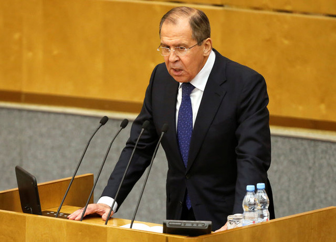 Ngoại trưởng Nga, ông Sergei Lavrov