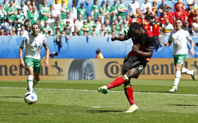 Lukaku tỏa sáng,Bỉ thắng trận đầu tiên ở Euro 2016