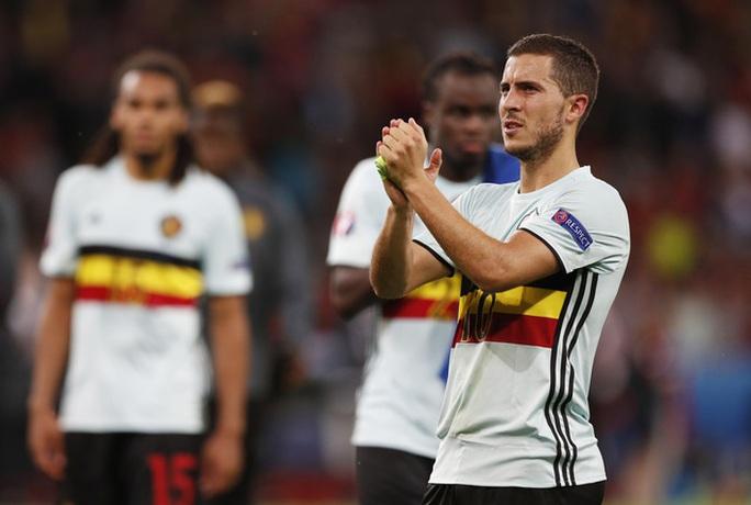 Ngôi sao Hazard không thể giúp tuyển Bỉ giành chiến thắng