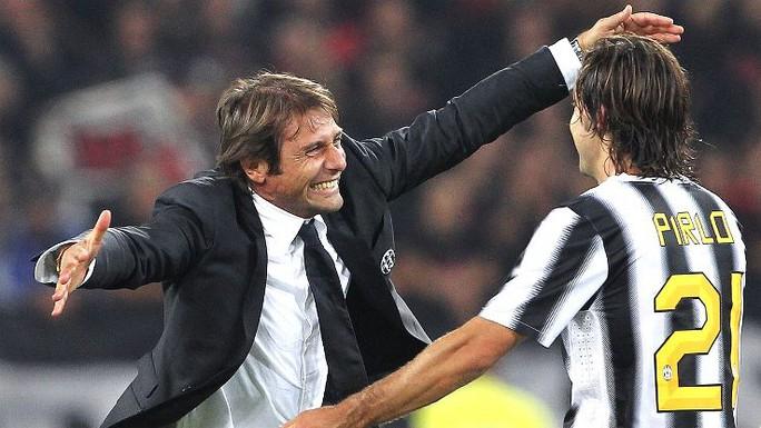 HLV Antonio Conte từng giúp Juventus đăng quang Serie A 3 năm liền