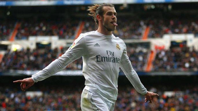 Garteth Bale vừa trở lại sau chấn thương và ghi bàn cho Real