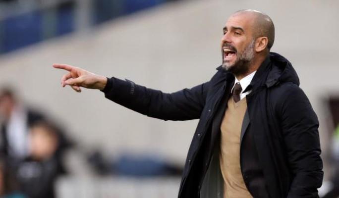 HLV Pep Guardiola sẽ thay ông Pellegrini tiếp quản Man City khi mùa giải kết thúc