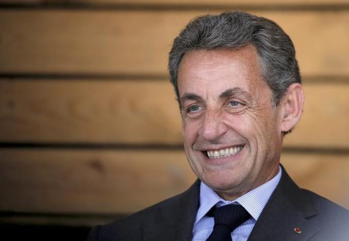 Ông Nicolas Sarkozy hôm 22-8 tuyên bố sẽ ra tranh cử tổng thống Pháp vào năm sau. Ảnh: Reuters