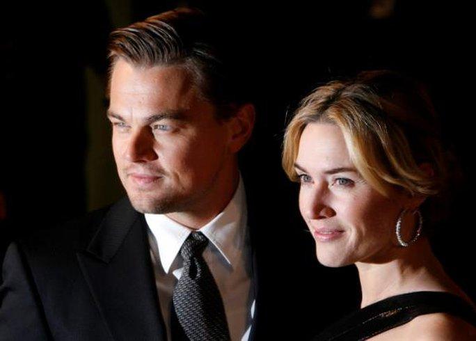 Kate và Leonardo từng vài lần vào vai người tình trên màn ảnh