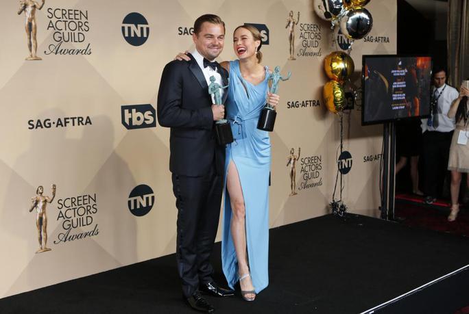 Leonardo và Brie Larson