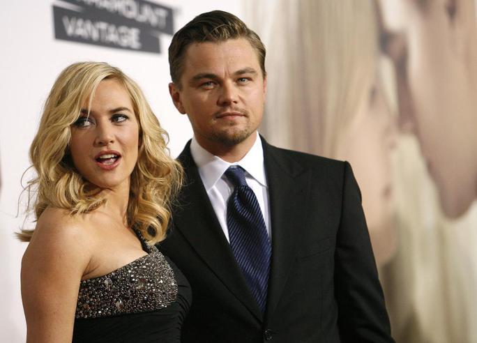 Một số hình ảnh khác về Leonardo bên cạnh bạn diễn Kate Winslet