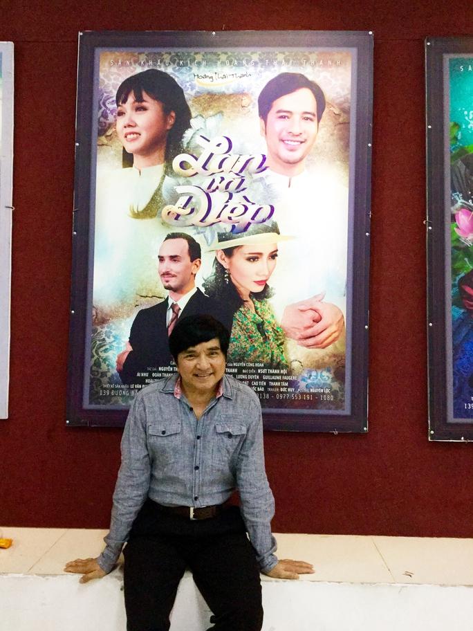 NS Chí Tâm tại sân khấu kịch Hoàng Thái Thanh