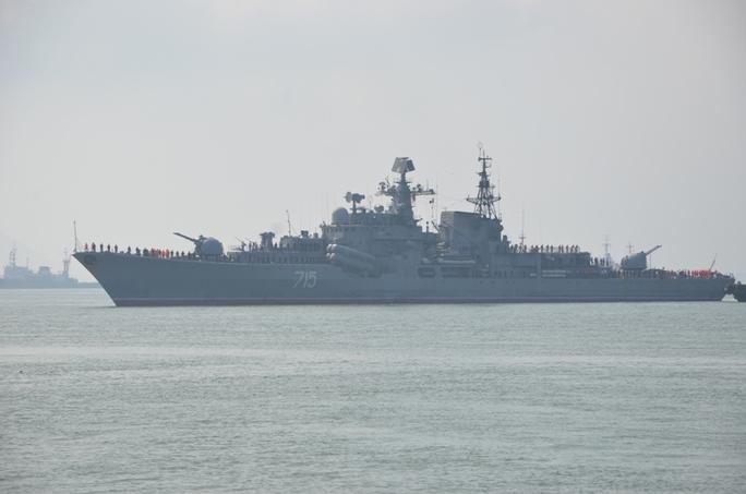 Tàu khu trục Bystry số hiệu 715 chuyên trách chống hạm và phòng không của Hải quân Nga