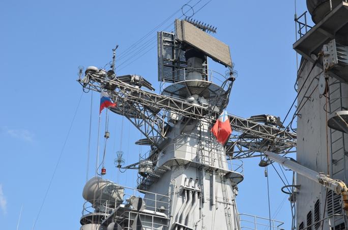 Các vũ khí hiện đại trên tàu khu trục Bystry