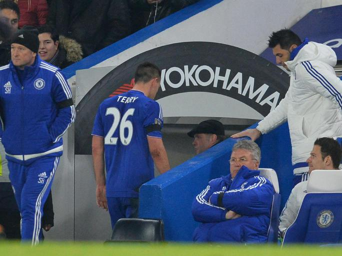 Terry vẫn chưa thể ra sân thi đấu vì chấn thương