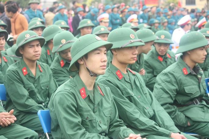 Trong đợt này, huyện Ba Vì có 240 thanh niên nhập ngũ