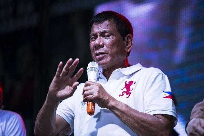 Ứng viên gây tranh cãi Rodrigo Duterte. Ảnh: Bloomberg