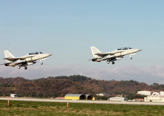 Máy bay chiến đấu mới FA-50PH của Không quân PhilippinesẢnh: Không quân Philippines