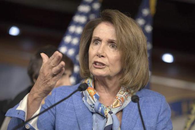 Nữ hạ nghị sĩ Mỹ Nancy Pelosi Ảnh: AP