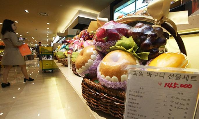 Luật chống tham nhũng mới của Hàn Quốc bị xem là đe dọa đến doanh thu trái cây Ảnh: Yonhap