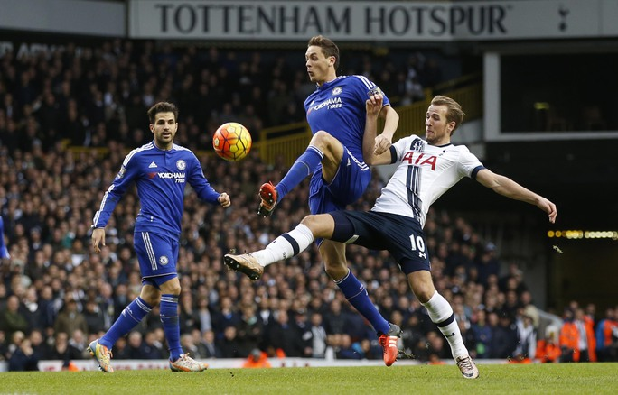 Harry Kane là niềm hy vọng lớn nhất của Tottenham trước ChelseaẢnh: REUTERS