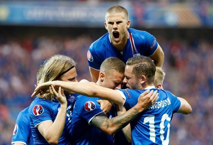 Iceland đang là hiện tượng thú vị nhất của VCK Euro 2016Ảnh: REUTERS