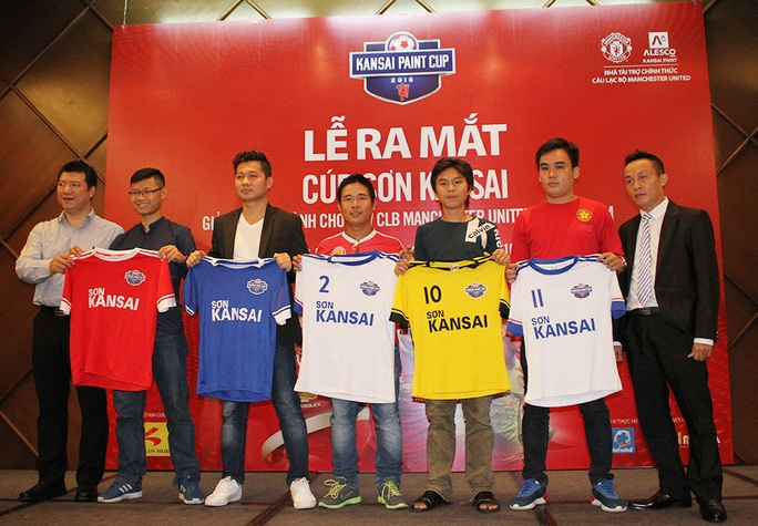 Các đội bóng ra mắt áo đấu chính thức của Giải Bóng đá dành cho CĐV CLB Manchester United tại Việt Nam