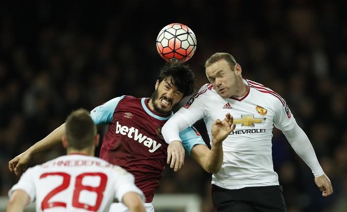 M.U của Rooney đứng trước cơ hội lớn trở lại tốp 4 nếu thắng chủ nhà West Ham rạng sáng 11-5. Ảnh: REUTERS