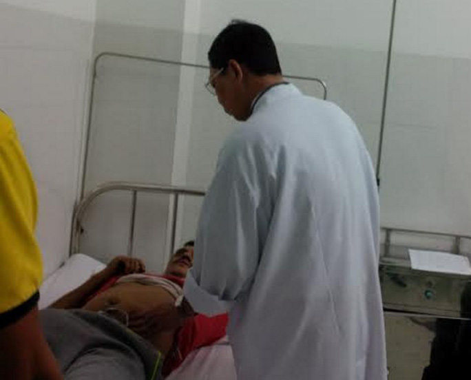 Thuyền viên Soban Singh gặp nạn trên biển được lực lượng chức năng tỉnh Khánh Hòa cứu nạn- ảnh CTV