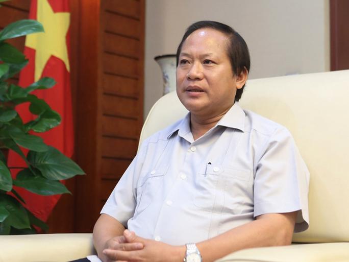 Thứ trưởng Bộ TT-TT Trương Minh Tuấn trả lời phỏng vấn