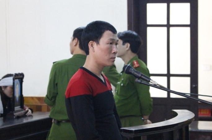 Bị cáo Lê Văn Định tại toà
