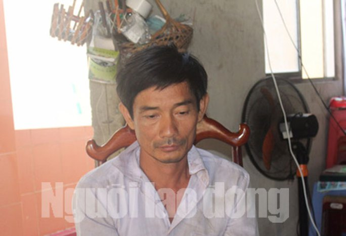 Nguyễn Văn Bình lúc bị bắt