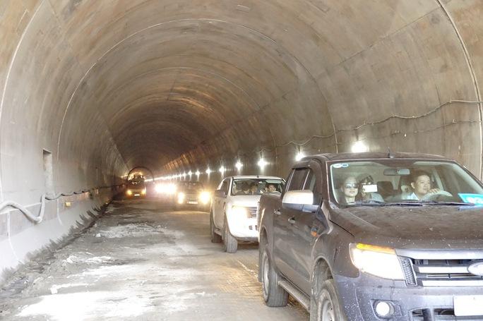 Thông hầm Đèo Cả tuyến Quốc lộ 1A