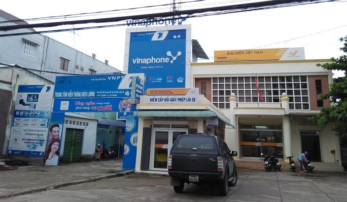 Trụ sở VNPT Kiên Lương, nơi ông Kiên làm phó giám đốc phụ trách bán hàng.