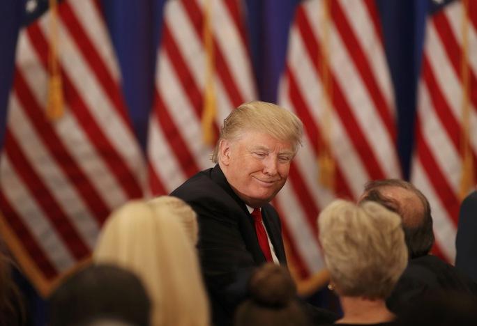 Ông Trump giành thắng lợi 3/4 bang trong cuộc bầu cử sơ bộ ngày 8-3. Ảnh: Reuters