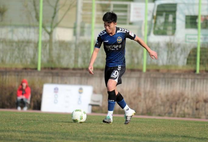 Tiền vệ Xuân Trường đã có được bàn thắng đầu tiên cho Incheon United ở giải R-League