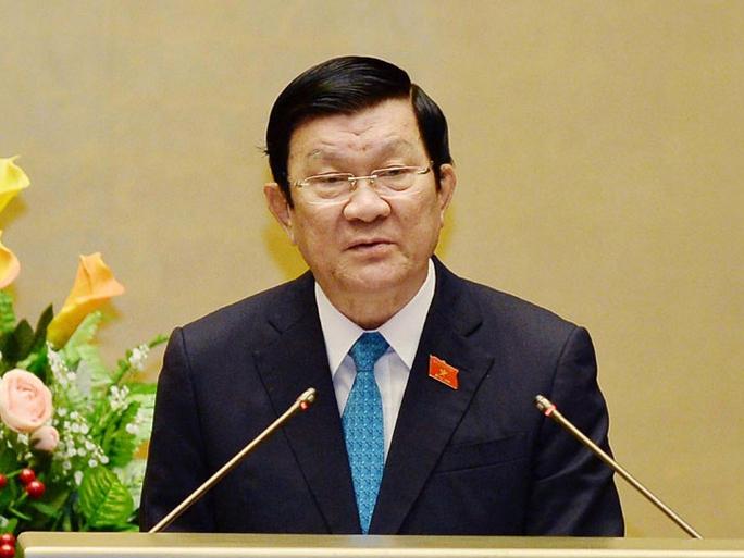 Hơn 90% đại biểu QH đồng ý miễn nhiệm chức danh Chủ tịch nước với ông Trương Tấn Sang