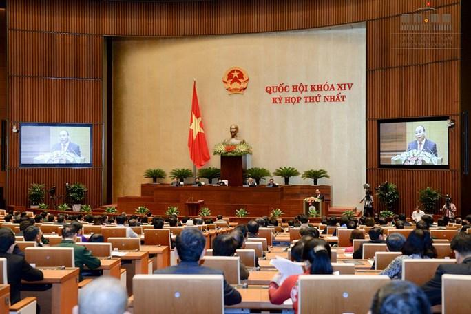 Phát biểu trong lễ nhậm chức, Thủ tướng Nguyễn Xuân Phúc khẳng định sẽ không để tái diễn vụ việc như Formosa - Ảnh: Quochoi.vn