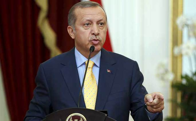 Tổng thống Thổ Nhĩ Kỳ Recep Tayyip Erdogan. Ảnh: NDTV