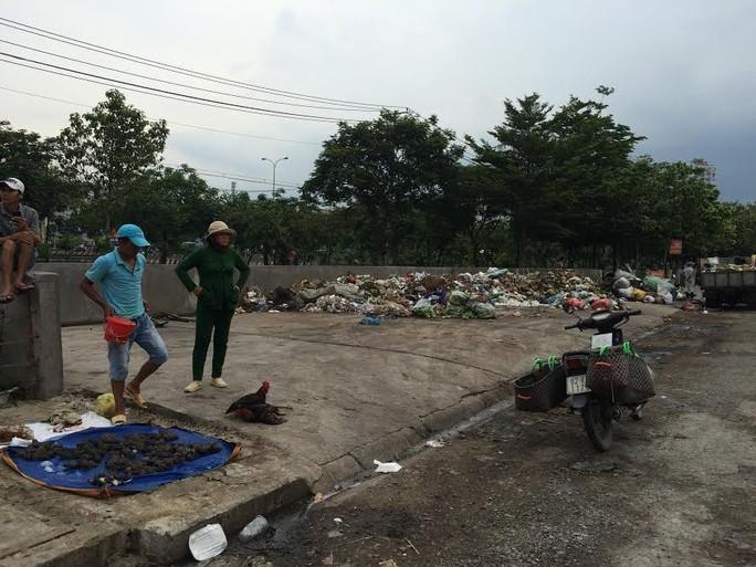 Bãi rác gây ô nhiễm cho khu dân cư