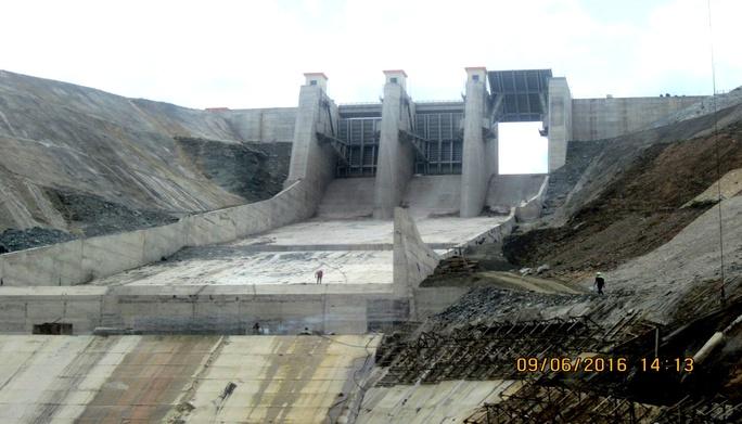 Thủy điện Sông Bung 2 nơi xảy ra sự cố